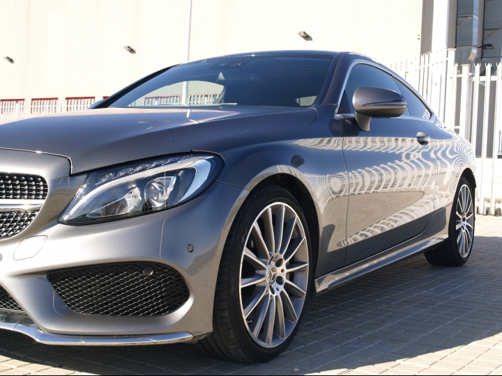 Mercedes C250d coupe AMG
