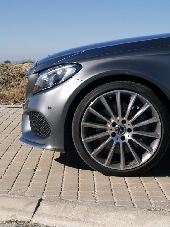 Mercedes C250d coupe AMG