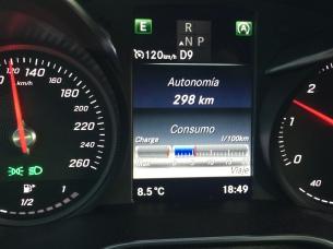indicador consumo Mercedes Benz c250d AMG