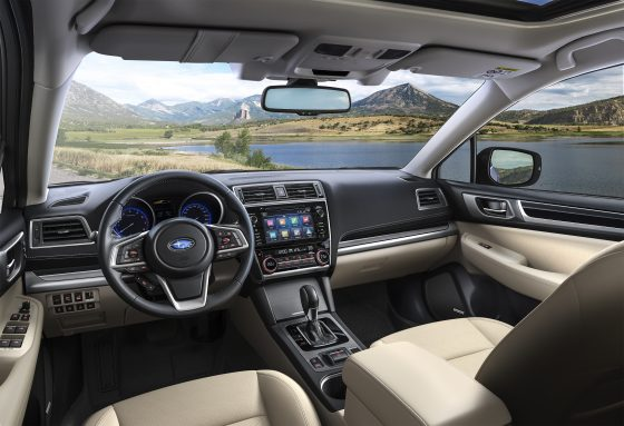 interior Subaru Outback Executive Plus-S