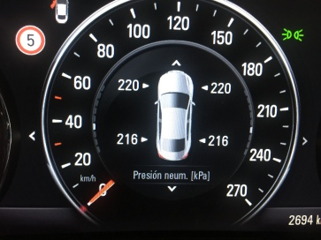 Indicador presiones OPEL Insignia Grand Sport 1.5 Turbo 165 CV