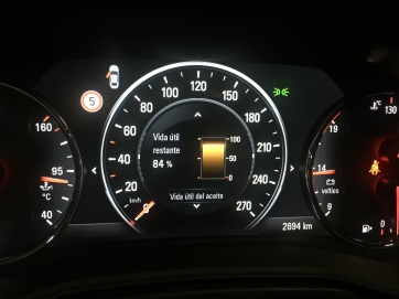 Indicador vida útil del aceite OPEL Insignia Grand Sport 1.5 Turbo 165 CV