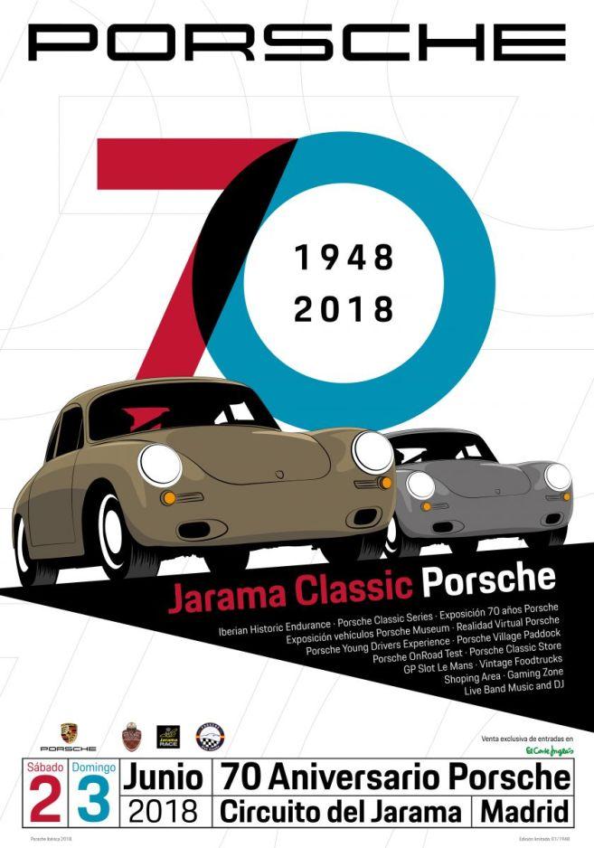 Poster oficial_Jarama Classic Porsche 2018