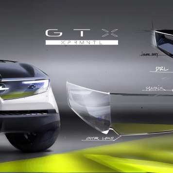 2018 Opel GT X Experimental - Vizor
