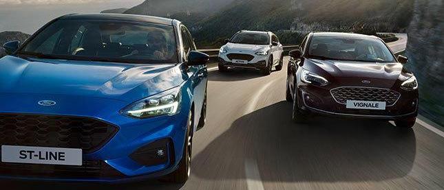 Ford Fiesta y Focus Hybrid infoblogmotor.com