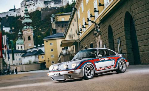Porsche Herbert Von Karajan un 911 Turbo RS, infoblogmotor.com